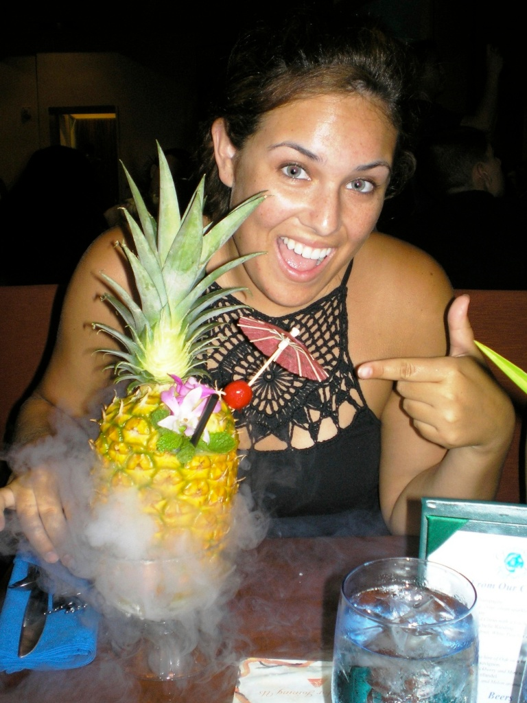 Vacation in Hawaii. I *think* this was around age 22... Who. Knows. Ha!