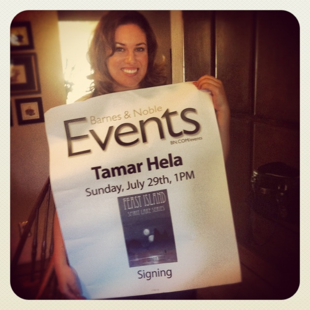 Age 27, right after a book signing at Barnes & Noble. Wow, what a moment!