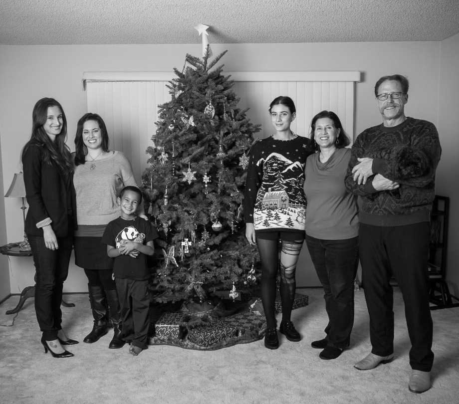 Merry Christmas from my family to you and yours! <3