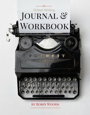Fiction Writing Workbook Cover by Robin Woods