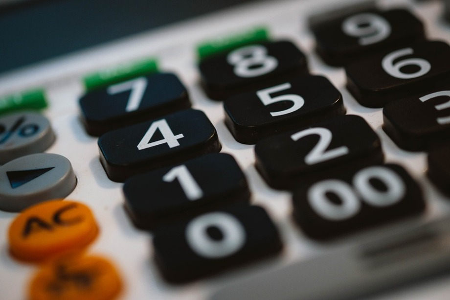 Business Finance Office Calculator Accounting